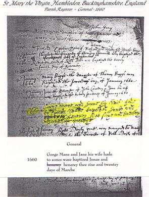 Henry and Jonas Man's baptisms