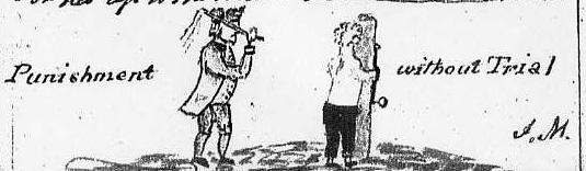 John Man's sketch from his Anecdotes