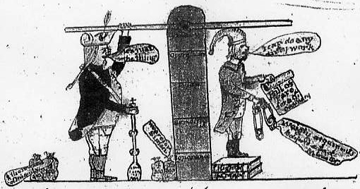 John Man's Sketch from his 'Anecdotes'