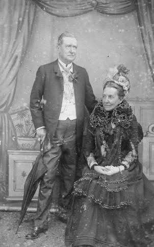 Edward and his wife Kate