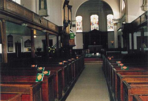 Holy Trinity Clapham Interior