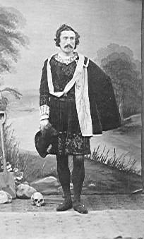 William Lionel Man as Hamlet