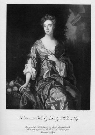 Lady Susannah (Henley) Holworthy