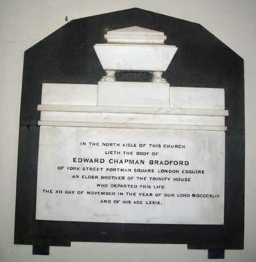 Edward Chapamn Braford memorial