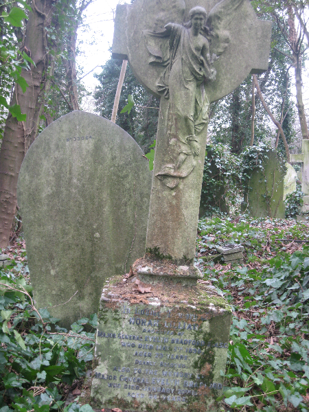 Evelyn Bradford Grave at Highgate 2