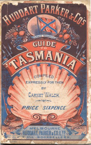 Garnet Walch Book Cover Guide to Tasmania