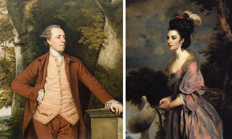 Mr and Mrs Richard Crofts by Sir Joshua Reynolds