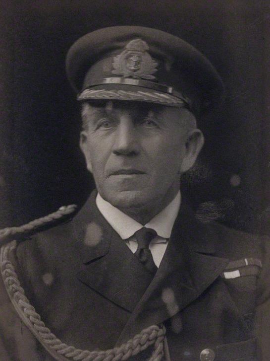 Admiral Philip Dumas