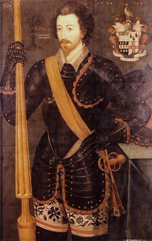 Sir Rowland Lytton whose daughter daughter Jane married Sir Charles Crofts