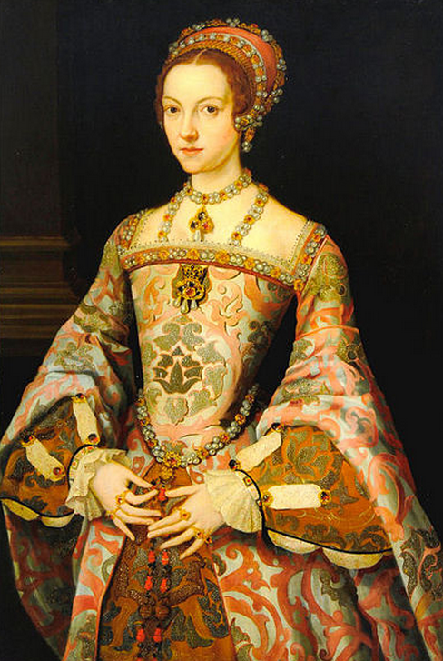Catherine Parr whose sister in law married Edmund Crofts