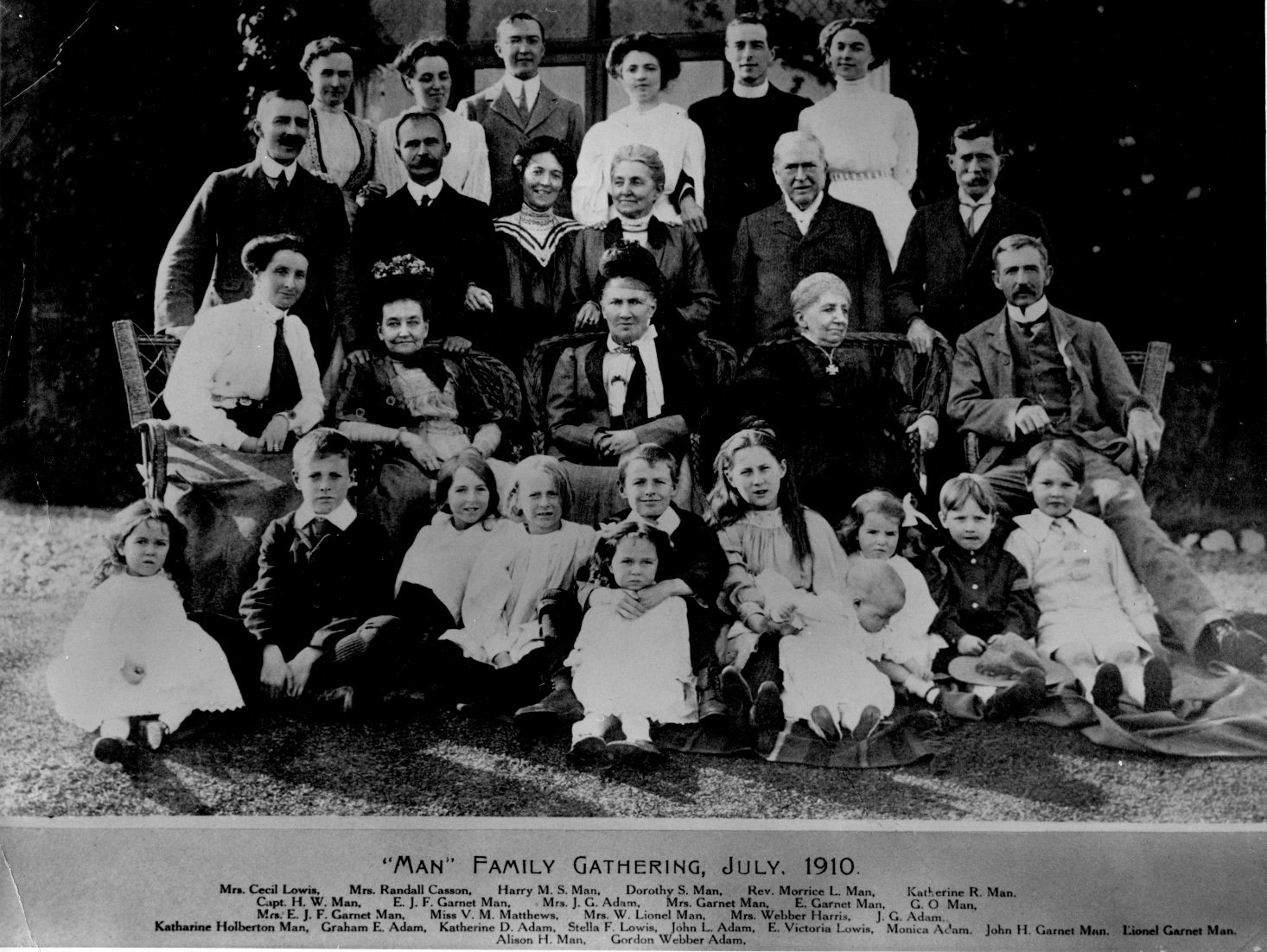 1910 Man Family Gathering 150 dpi