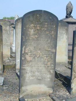 Julius Sandheim's Tombstone
