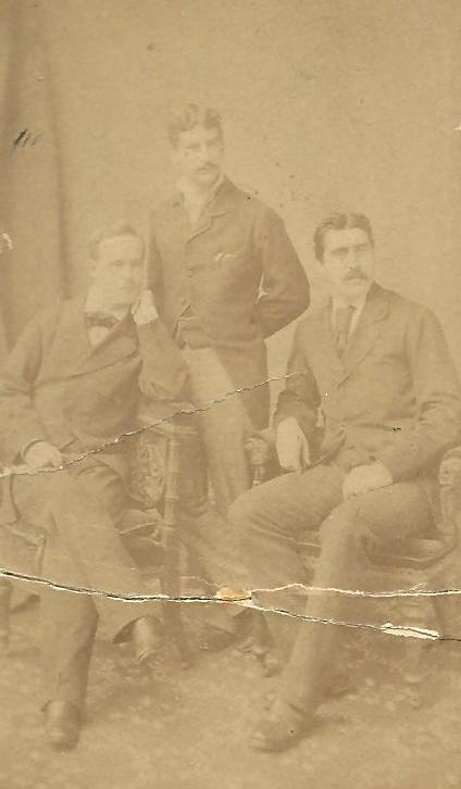 The three sons: Edward, John and James