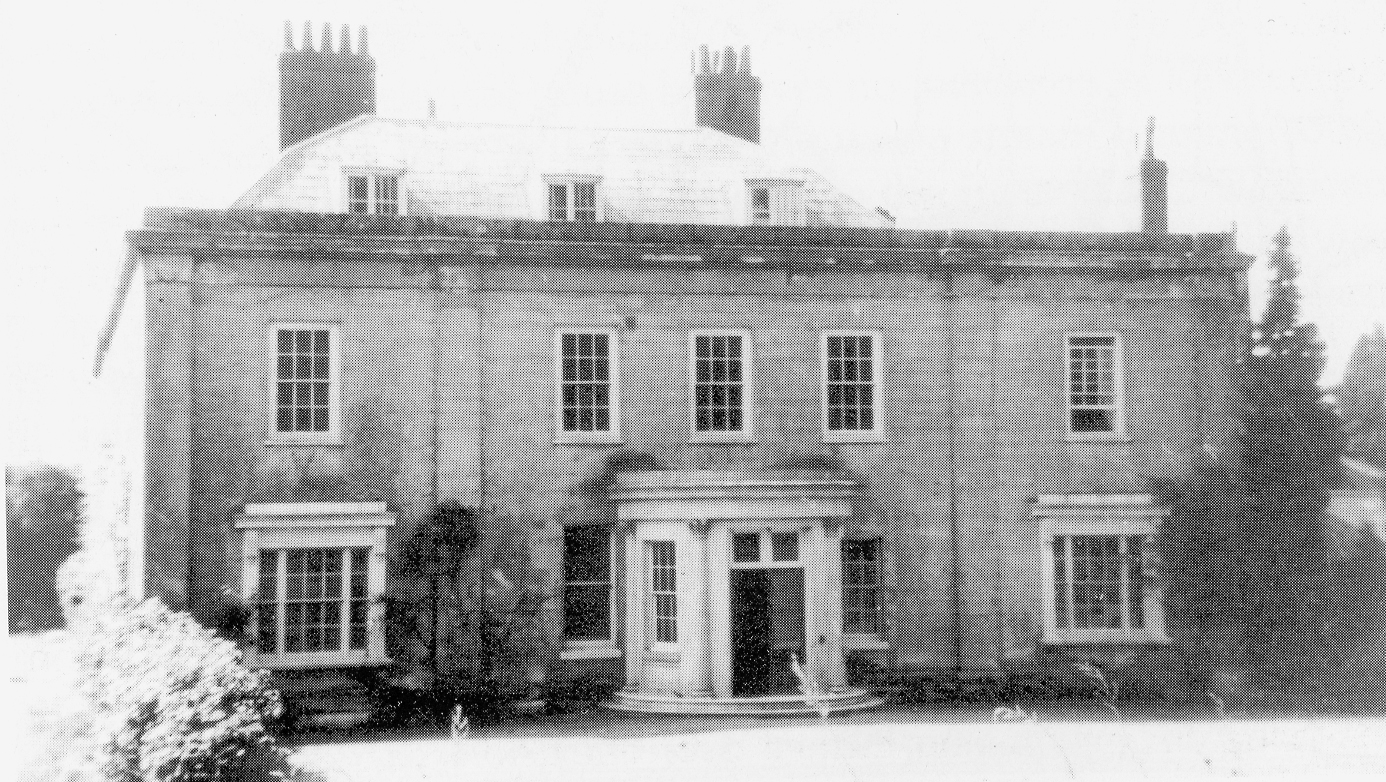 The front entrance of Broome Park in the time of the Lloyds
