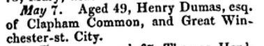 Obit of Henry Dumas