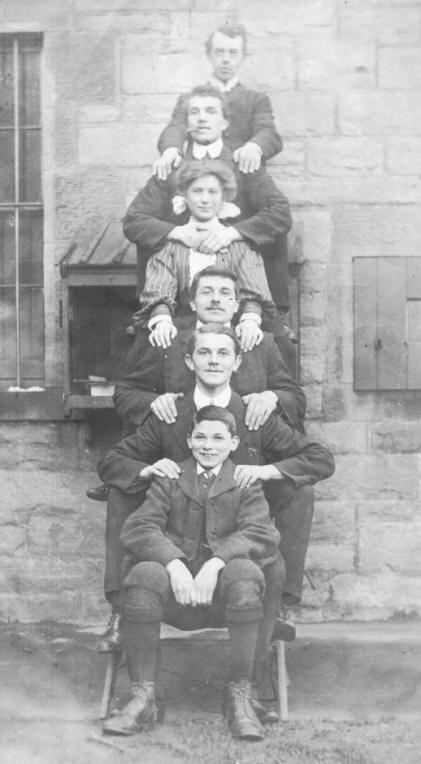 Charles, Arthur, Norah, Albert, Gordon & NormanAA