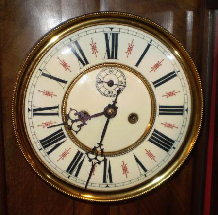 Chas L. Reis Clock Face