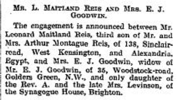 The Times, 10 April 1923