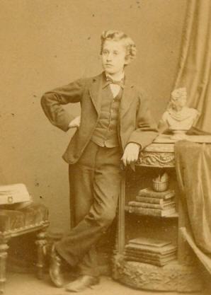 arthur montagu reis as a young boy
