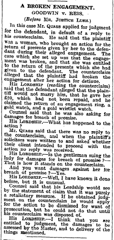 The Times 8 February 1929