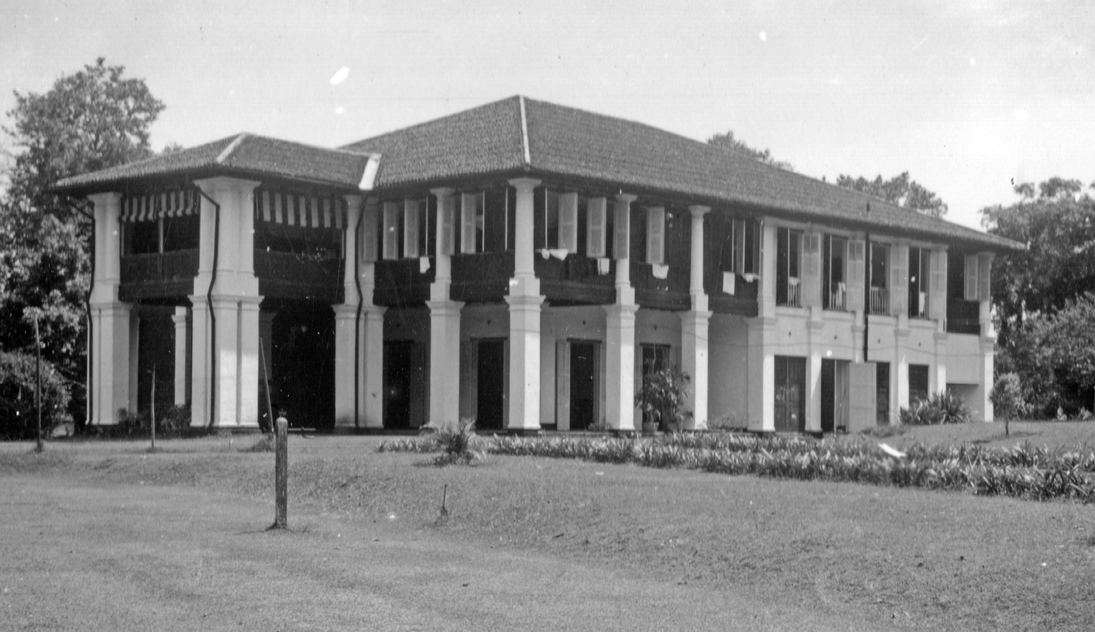 Balmoral: The Boustead's bachelor's mess in Singapore, circa 1936