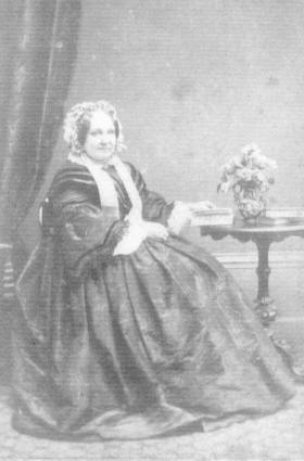 Eliza (Sykes) Schwabe whose brother Adam was a partner with Boustead and Schwabe