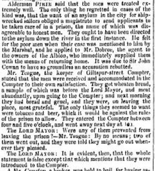 The Morning Chronicle, 19 November 1838
