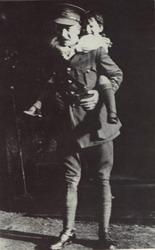 Edward Boustead's grandson William Nivern with his son David