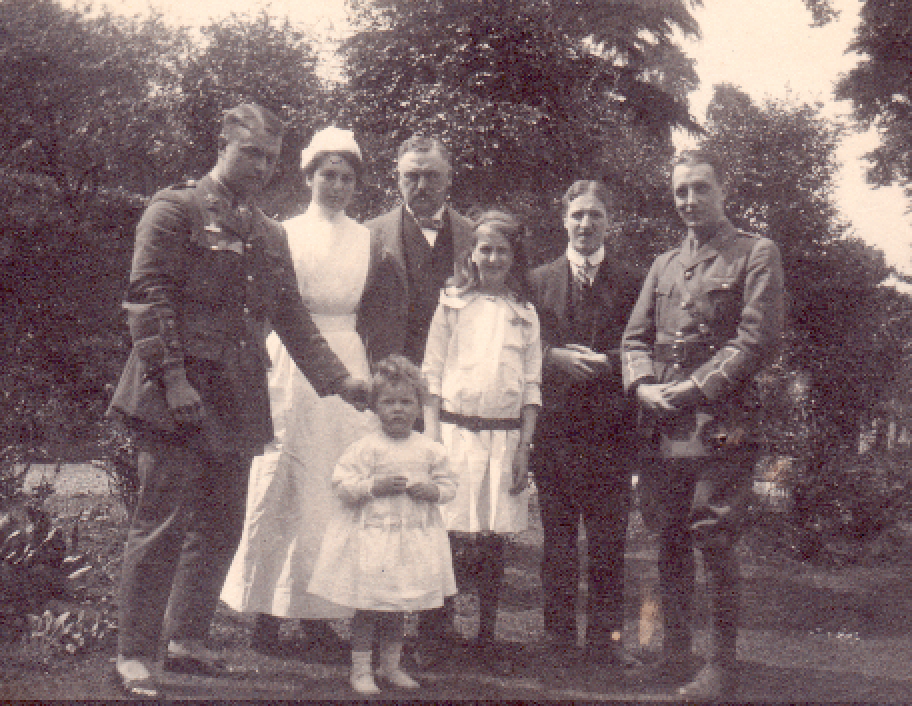 The Marshall Family at Dulwich 1915