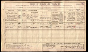 Cecil and Hilda Reis on 1911 Census