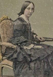 Elizabeth Webber Harris as a young woman
