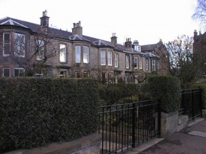 49 Mayfield Road, Edinburgh where Albert was born