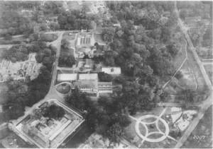 Aerial photo Muntok 1931