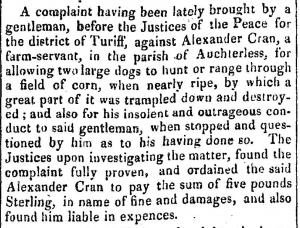 12 December 1818