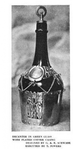 G A E Schwabe decanter