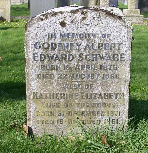 Godfrey Schwabe Grave