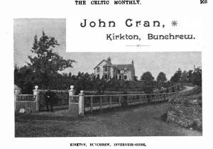 John Cran in Celtic Monthly