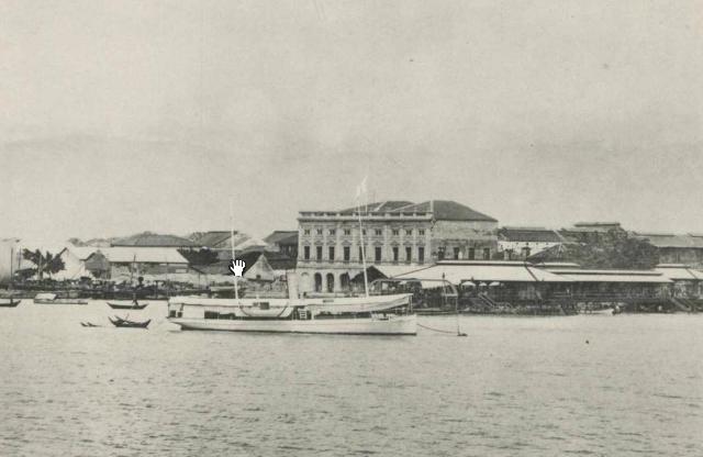 Boustead in Penang 1898 Jetty