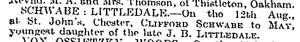 Clifford Schwabe Marriage Aug 21 1913