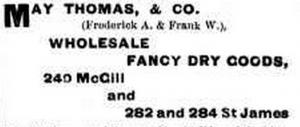 Thomas May Advertisment