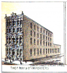 Thomas May and Co Toronto
