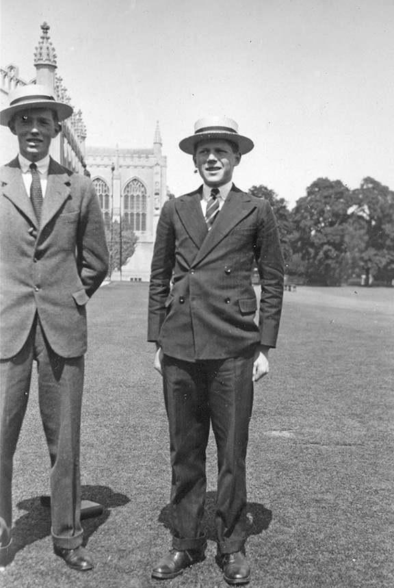 1931 circa at Cheltenham Morgan and Frank edited for web