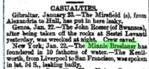 Minnie Breslauer January 24 1873