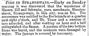 Zill and Schwabe Fire July 16,1887