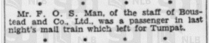 FOS Man 9 August 1939