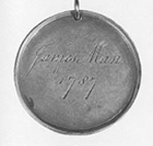 James's broker's medal