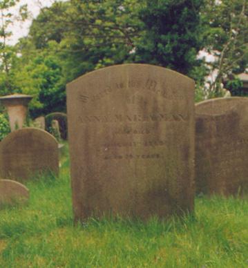 Anna Maria Man's Grave