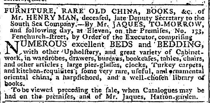 Auction Notice April 23 1800