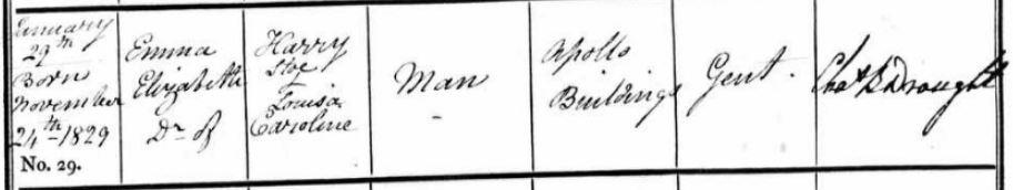 Emma Elizabeth Man's Baptism
