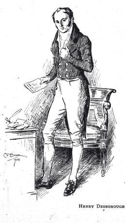 Henry Desborough whose daughter Georgiana married Edward Man
